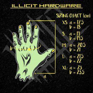 rukavice Illicit race