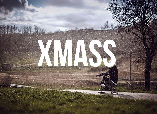longboard k vánocům