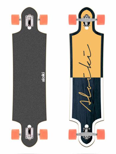 pružný longboard